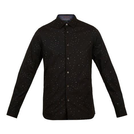 Nooley Star Print Shirt, ${color}
