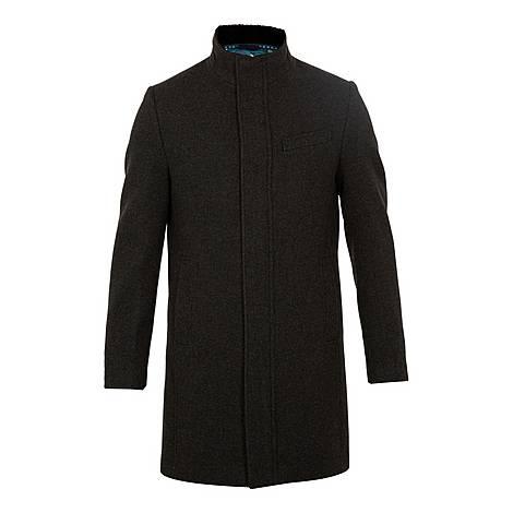 Cheago Funnel Neck Coat, ${color}