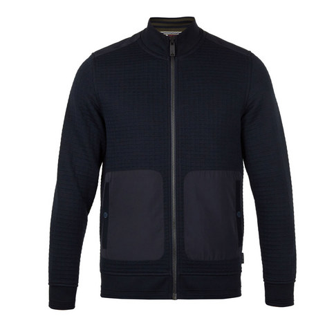 Narn Quilted Funnel Neck, ${color}