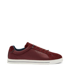 Eeril Suede Detail Trainers