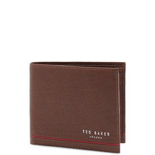 Gramm Leather Stripe Detail Bi-Fold Wallet