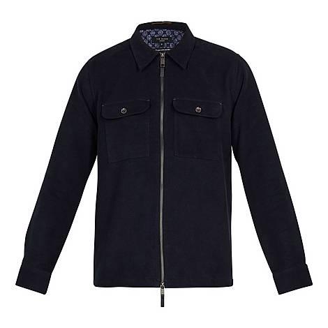 Nomel Two-Pocket Zipped Shirt Jacket, ${color}