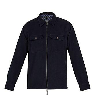 Nomel Two-Pocket Zipped Shirt Jacket
