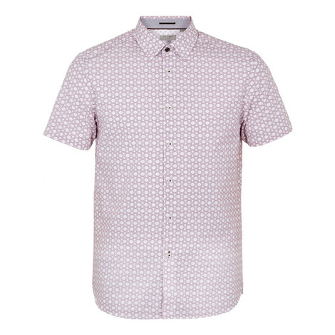 Enyone Hex Line Print Shirt, ${color}