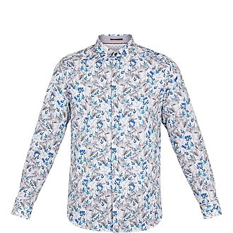 Thefern Floral Cotton Shirt