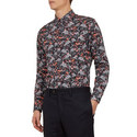 Thefern Floral Cotton Shirt, ${color}
