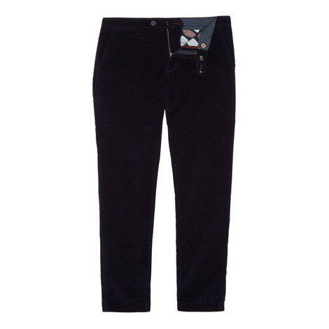 Cordtro Slim Fit Cord Trouser, ${color}