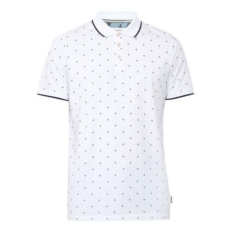 Dotie Monkey Print Polo Shirt, ${color}