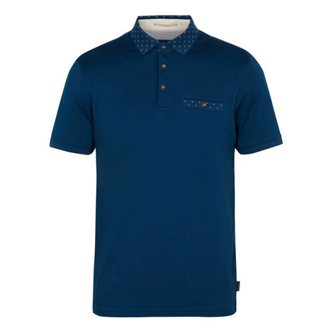 Critter Flat Knit Polo Shirt, ${color}