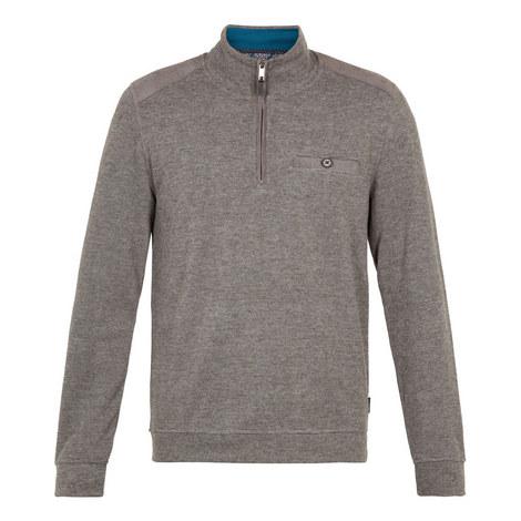 Decc Funnel Neck Zipped Sweatshirt, ${color}