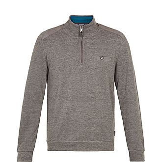 Decc Funnel Neck Zipped Sweatshirt
