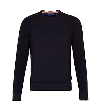 Trull Textured Sleeve Sweater