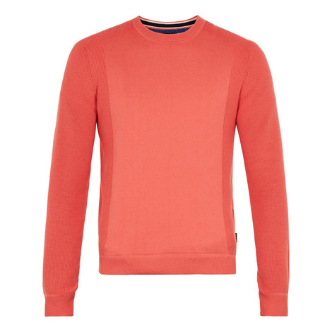 Trull Textured Sleeve Sweater, ${color}