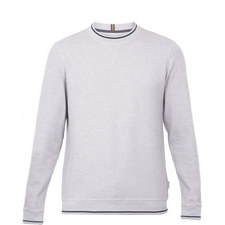 Thersty Textured Cotton Sweatshirt