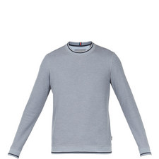 Thersty Textured Cotton Sweatshirt
