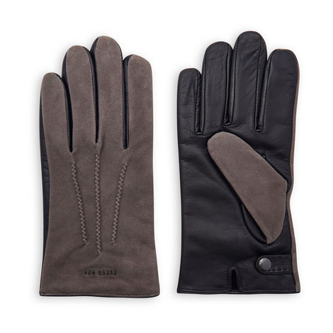 Priced Suede Gloves, ${color}