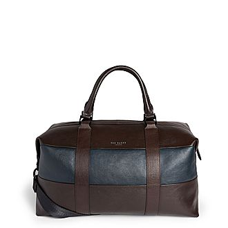 Elton Leather Holdall