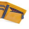 Siszip Lizard Embossed Bifold Wallet, ${color}