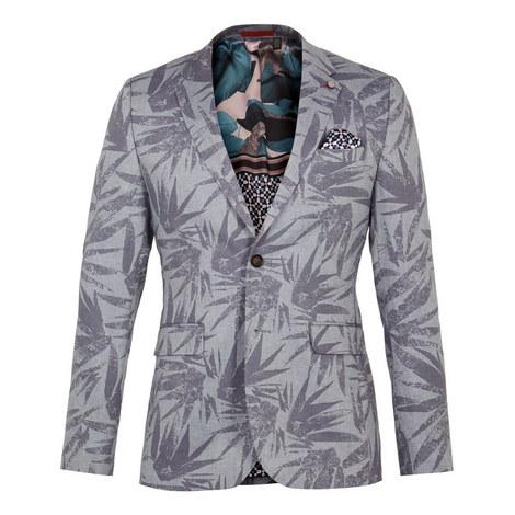 Stepin Leaf Print Jacket, ${color}
