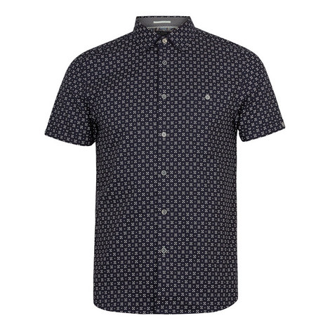 Polarbe Small Dot Cotton Shirt, ${color}