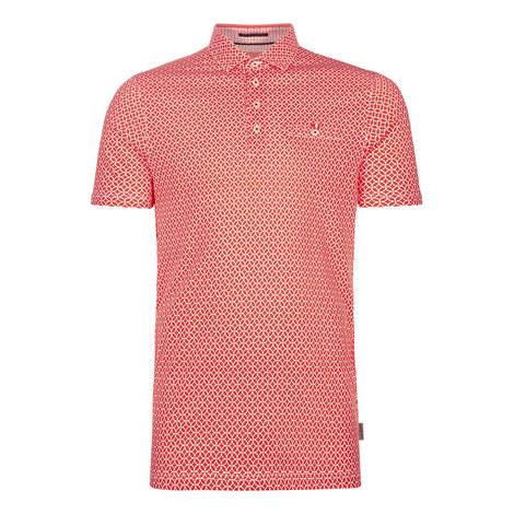 Badant Printed Polo Shirt, ${color}