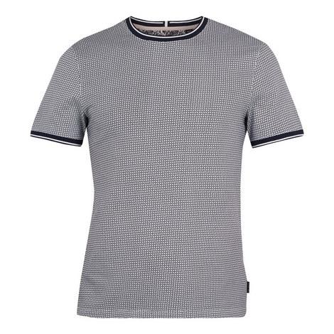 Geckoe Printed Cotton T-Shirt, ${color}