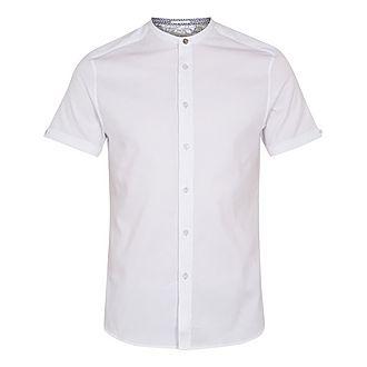 Grancol Grandad Collar Shirt