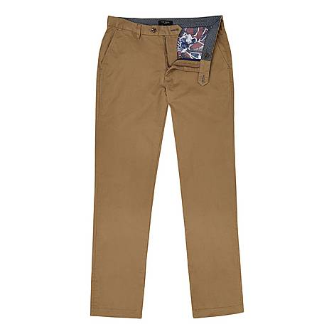 Clenchi Classic Fit Chinos, ${color}