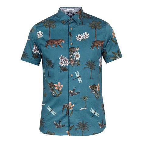 Group Jungle Print Cotton Shirt, ${color}