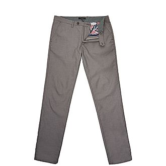 Stelim Slim-Fit Textured Trousers