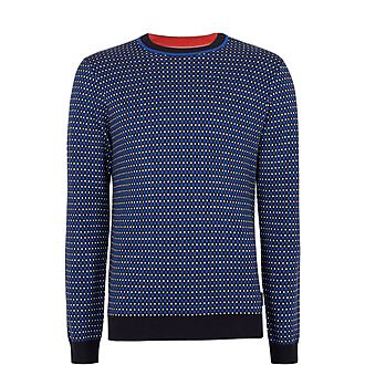 Cambra Checked Sweater