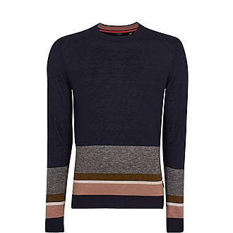Host Wool Striped Sweater