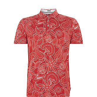 Fright Paisley Polo Shirt
