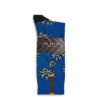 Khorus Cotton Leaf Socks