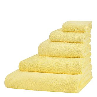 Super Pile Towels Yellow