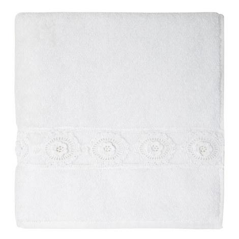 Crochet Daisy Bath Towel, ${color}