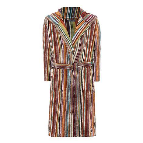 Jazz Striped Bathrobe, ${color}