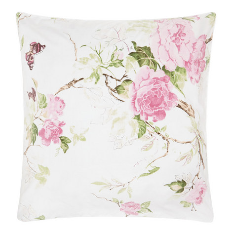 Floral Square Pillowcase, ${color}