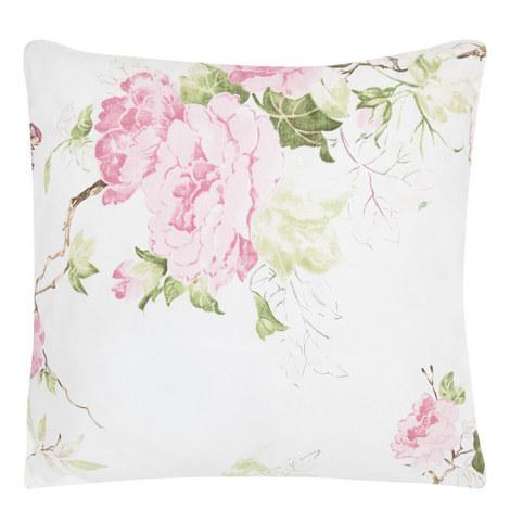 Mer De Rose Square Cushion, ${color}