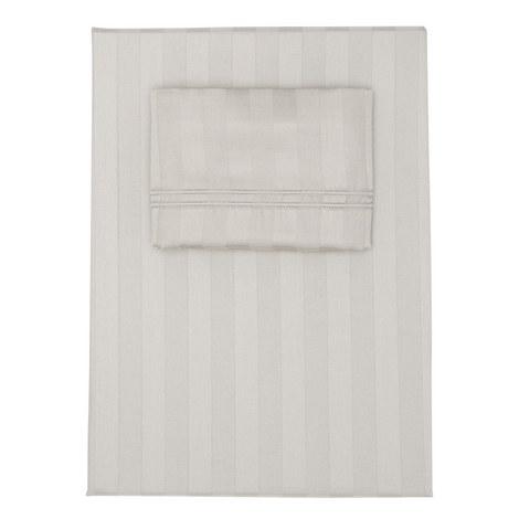 Satin Stripe Duvet Cover Set, ${color}