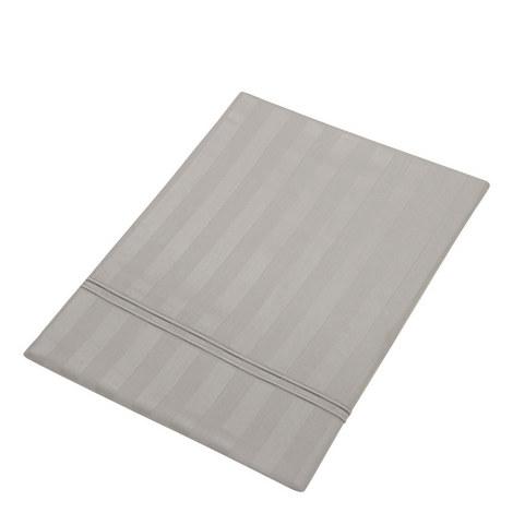 Satin Stripe Flat Sheet, ${color}