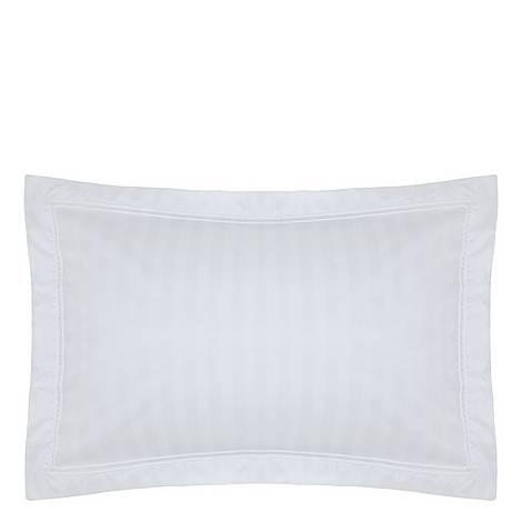 Satin Stripe Oxford Pillowcase, ${color}
