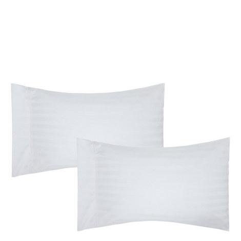 Satin Stripe Pillowcase Pair, ${color}