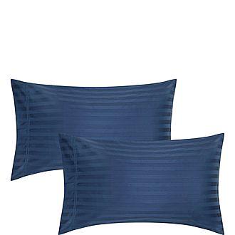 Satin Stripe Pillowcase Pair