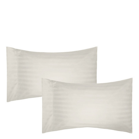 Satin Stripe Pillowcase Pair, ${color}