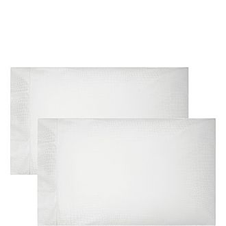 Crocodile Pillowcase Pair