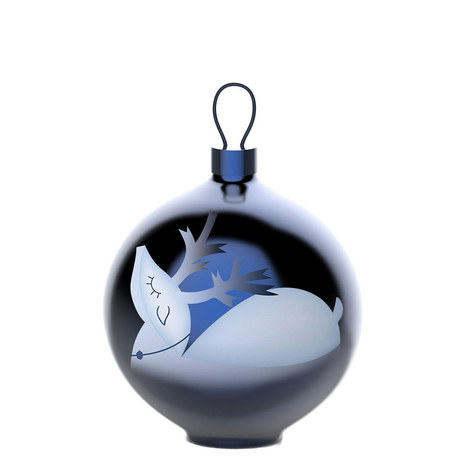 Reindeer Christmas Bauble, ${color}