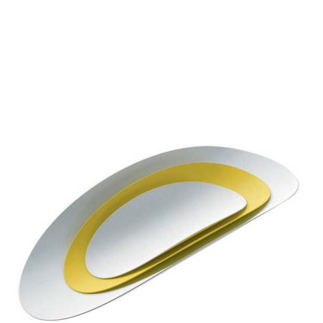 Ellipse Serving Plate Set Of 3, ${color}