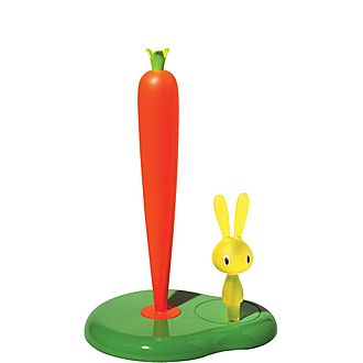 Bunny and Carrot Kitchen Roll Holder