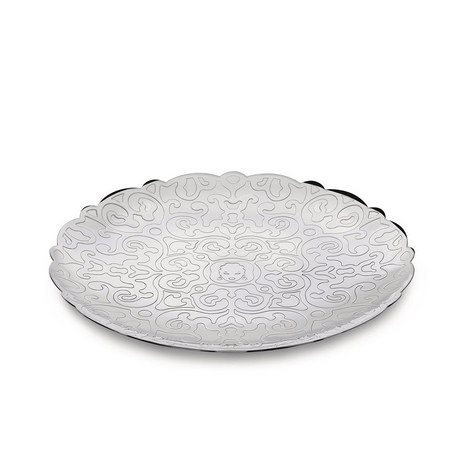 Dressed Round Tray Small, ${color}